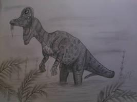 Corythosaurus casuarius by Teratophoneus