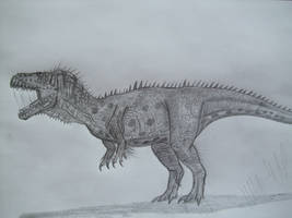 Zuni Basin Tyrannosaur by Teratophoneus