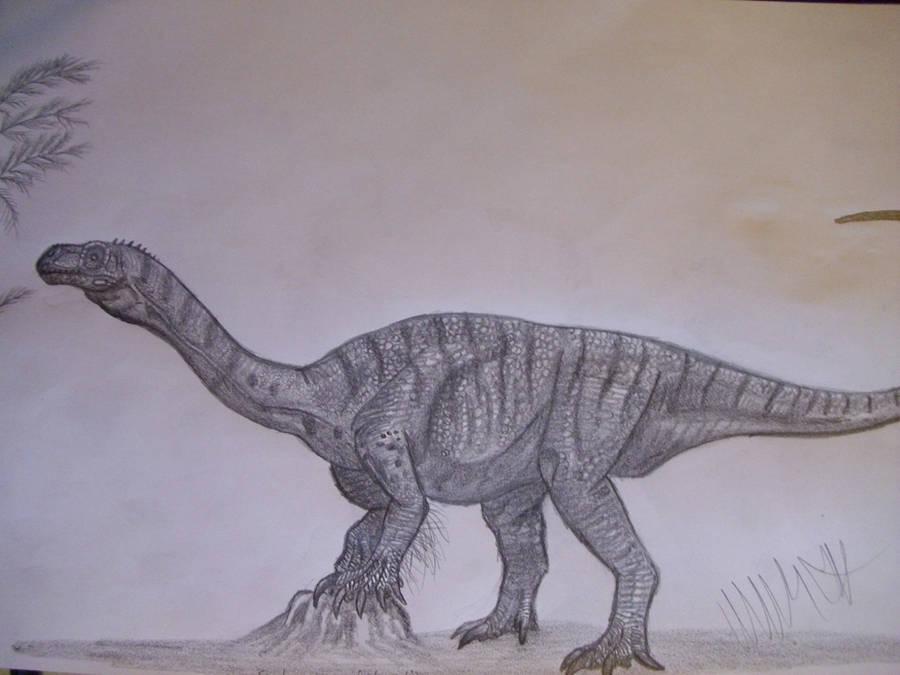 Sarahsaurus aurifontanalis by Teratophoneus