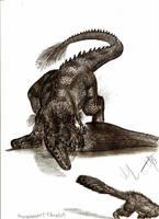 Gorgosaurus libratus by Teratophoneus