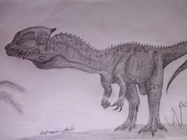 Dilophosaurus wetherilli by Teratophoneus