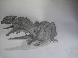 Dracovenator regenti by Teratophoneus