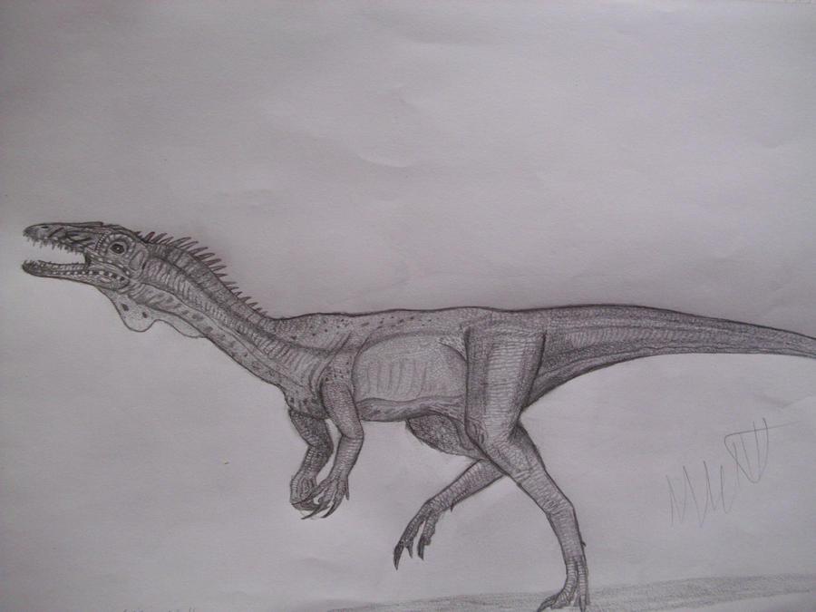 Segisaurus halli by Teratophoneus