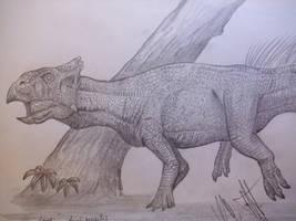 Leptoceratops gracilis by Teratophoneus