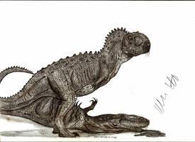 Ekrixinatosaurus novasi by Teratophoneus