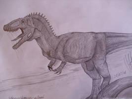 Veterupristisaurus milneri by Teratophoneus