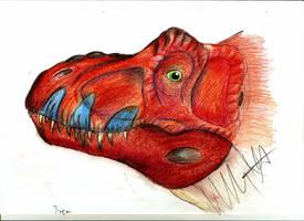 JP Bull T rex by Teratophoneus