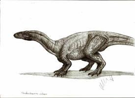 Thecodontosaurus antiquus by Teratophoneus