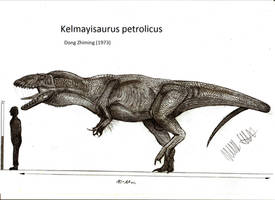 Kelmayisaurus petrolicus by Teratophoneus