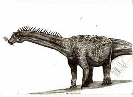 Nemegtosaurus mongoliensis by Teratophoneus