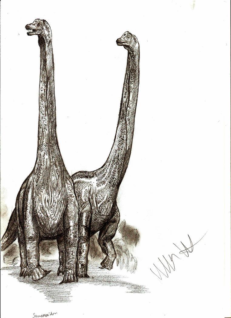 Sauroposeidon proteles by Teratophoneus