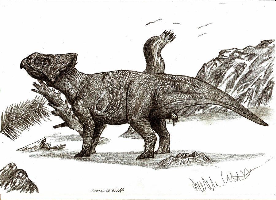 Unescoceratops koppelhusae by Teratophoneus