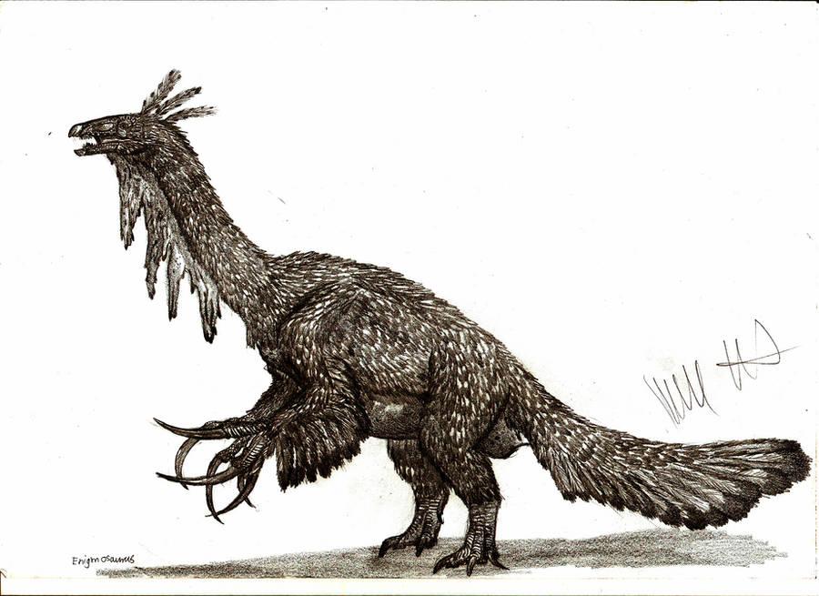 Enigmosaurus mongoliensis by Teratophoneus