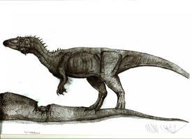 Sigilmassasaurus brevicollis by Teratophoneus