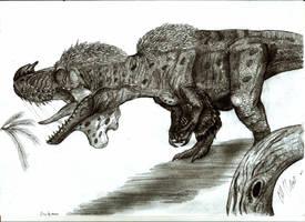 Sinotyrannus kazuoensis by Teratophoneus