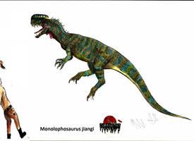 JP-Expanded Monolophosaurus by Teratophoneus