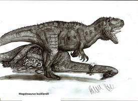 Megalosaurus bucklandii by Teratophoneus