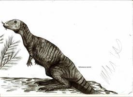 Parksosaurus warreni by Teratophoneus