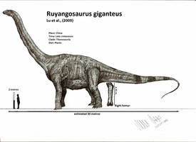Ruyangosaurus giganteus by Teratophoneus