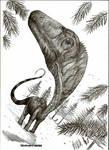 Eobrontosaurus yahnahpin by Teratophoneus