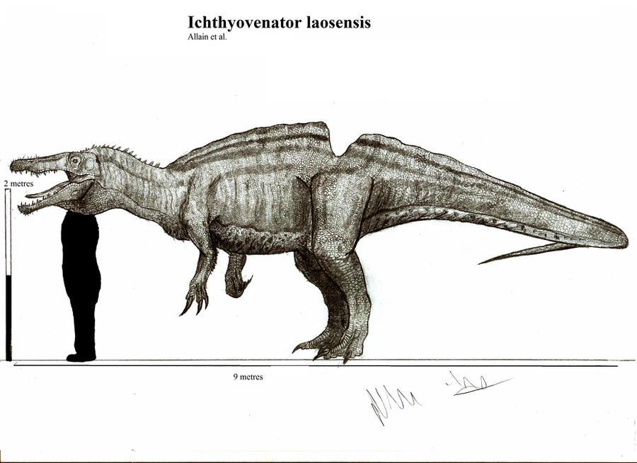 Ichthyovenator laosensis by Teratophoneus