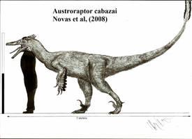 Austroraptor cabazai by Teratophoneus