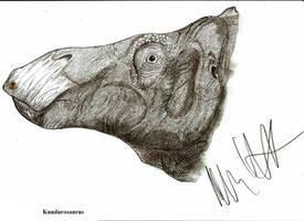 Kundurosaurus nagornyi by Teratophoneus
