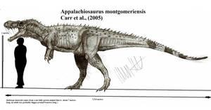 Appalachiosaurus montgomeriensis by Teratophoneus