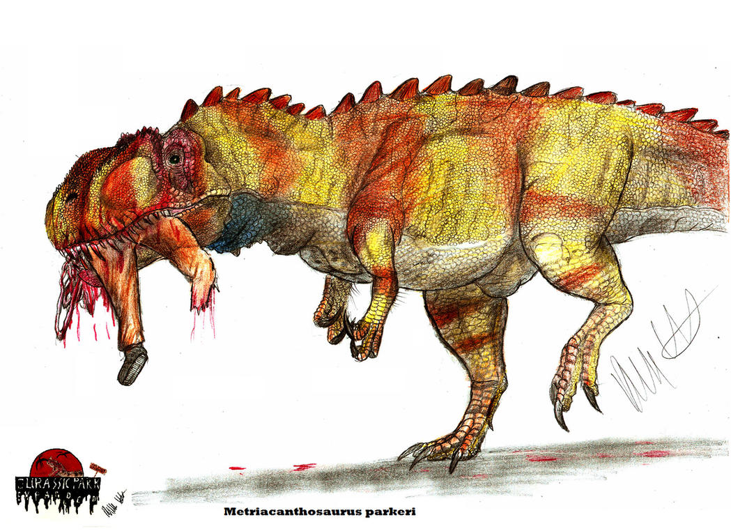JP-expanded Metriacanthosaurus by Teratophoneus