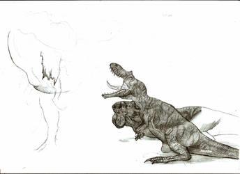 Prehistoric cuckoo? wip by Teratophoneus