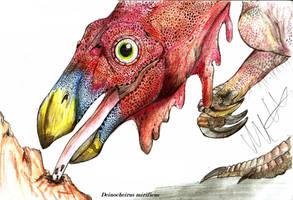 Deinocheirus mirificus by Teratophoneus
