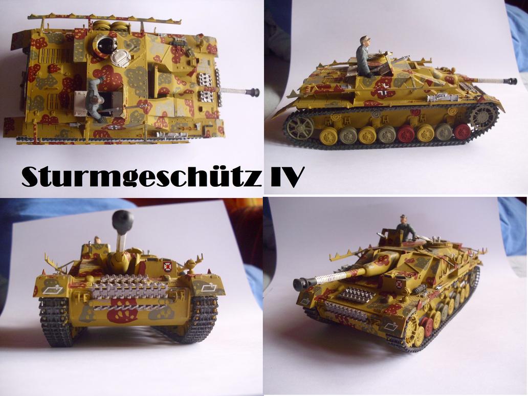 Sturmgeschutz IV by Teratophoneus