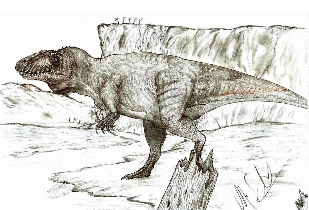 Sauroniops pachytholus by Teratophoneus