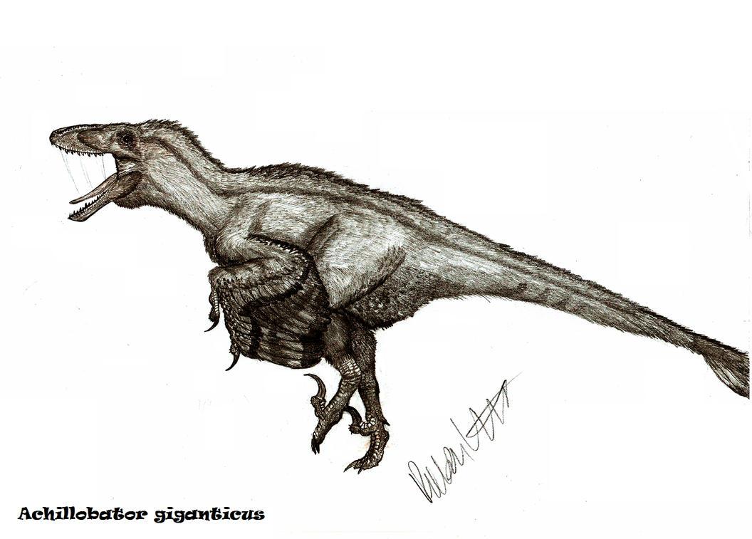 Achillobator giganticus by Teratophoneus