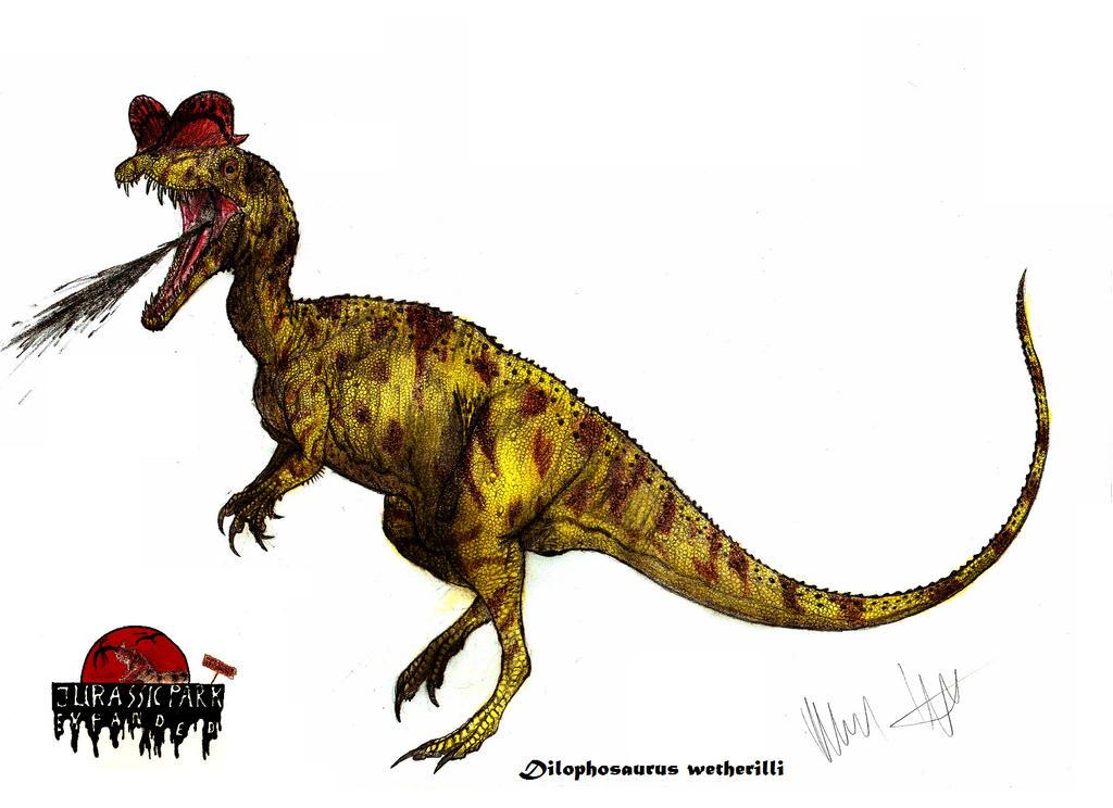 Image result for dilophosaurus jurassic park