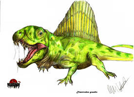 JP- Expanded Dimetrodon by Teratophoneus
