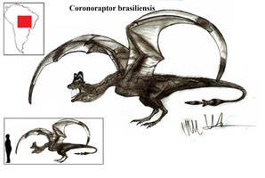 Coronoraptor brasiliensis by Teratophoneus