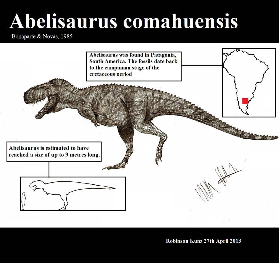 Abelisaurus comahuensis by Teratophoneus