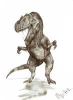 Allosaurus fragilis by Teratophoneus