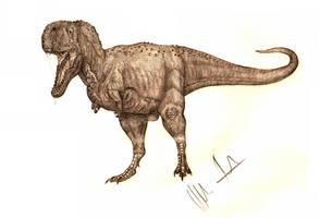 Giant Abelisaur by Teratophoneus