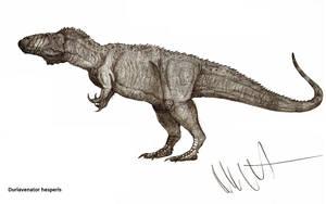 Duriavenator hesperis by Teratophoneus