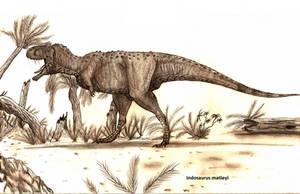 Indosaurus matleyi by Teratophoneus