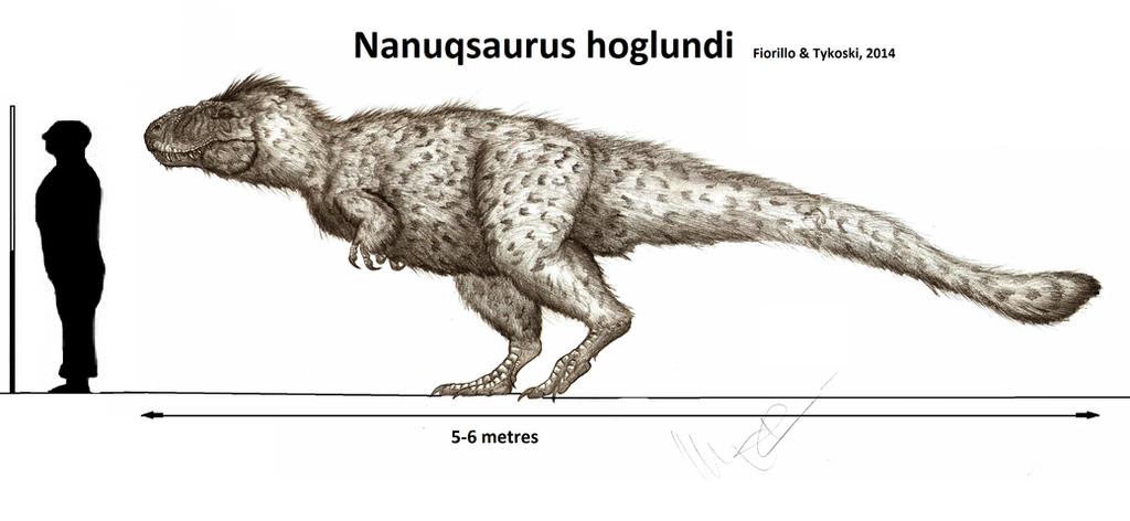 Nanuqsaurus hoglundi by Teratophoneus
