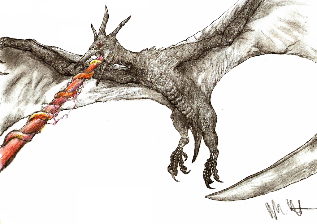 Kaiju revised  Rodan by Teratophoneus