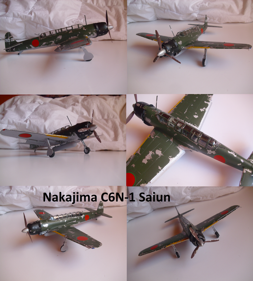 Nakajima C6N-1 Saiun by Teratophoneus