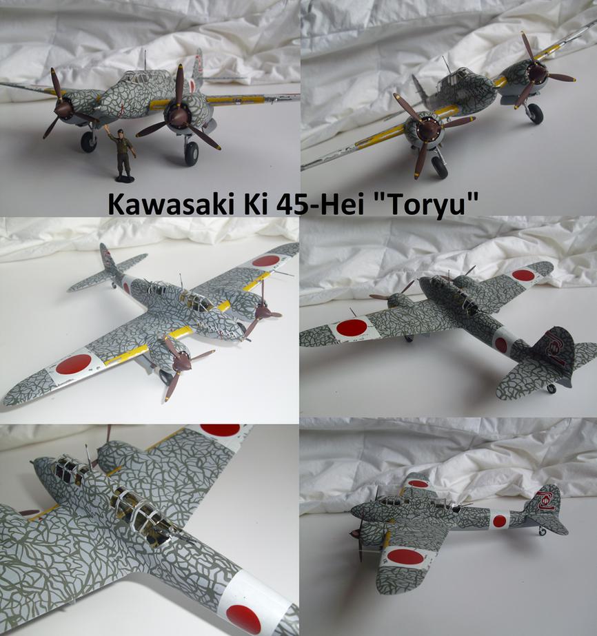 Kawasaki Ki-45 Hei Toryu by Teratophoneus