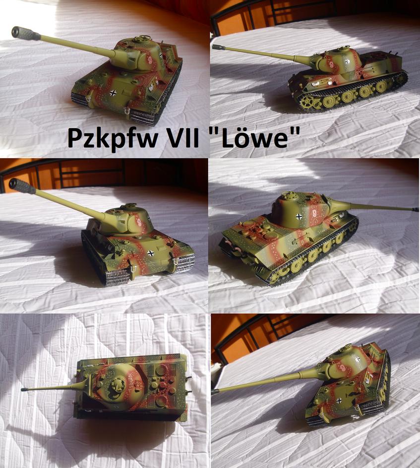 Panzerkampfwagen VII Loewe by Teratophoneus