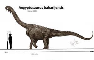 Aegyptosaurus baharijensis by Teratophoneus