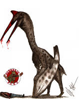JP-Expanded Quetzalcoatlus by Teratophoneus
