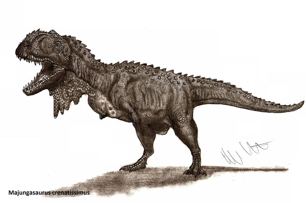 Majungasaurus Crenatissimus by Teratophoneus